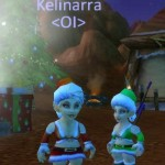 Syrana and Kelinarra Gnome'd