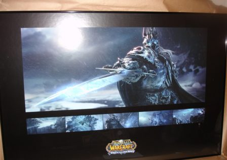 lich king framed poster