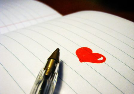 notebook pen heart-ayumi-flickr