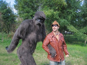 Sasquatch & Me (via gabegross @ Flickr)