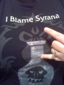 #IBlameSyrana Update