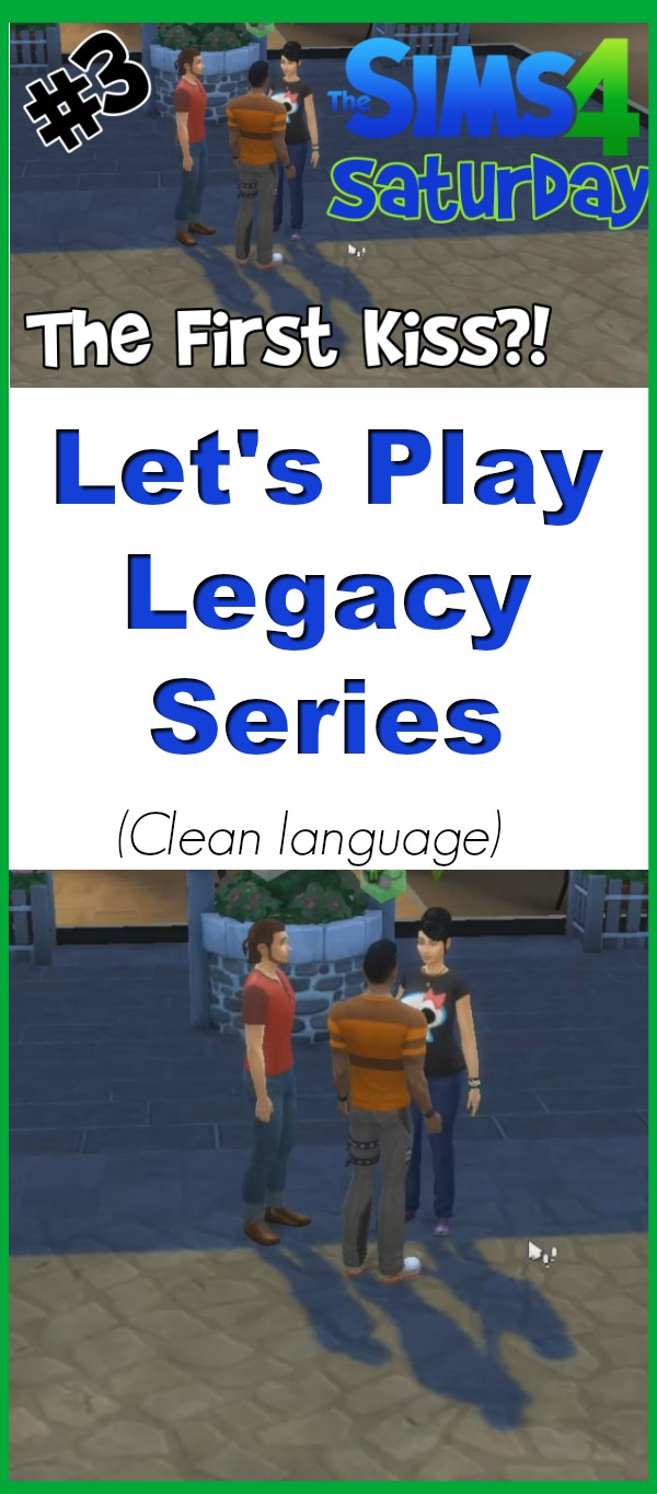 Which Sim will Kassandra fall for? She finally has her first kiss in this Sims 4 legacy series. Let's play video game commentary uses clean language to stay family friendly.