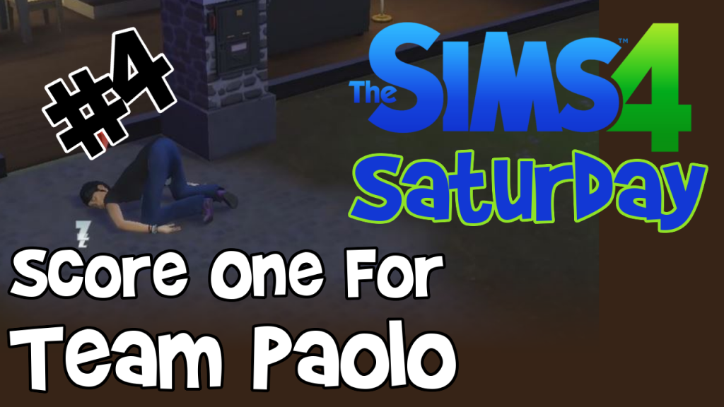 Let's Play Sims 4 Legacy Series Episode 4 Team Paolo