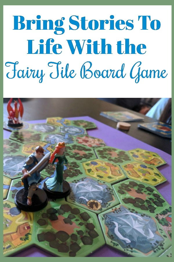 What a fun story driven board game! Check out this overview of how to play Fairy Tile the board game and the review of this family game. This game is perfect for kids and let's them bring a fairy tale to life through game play.