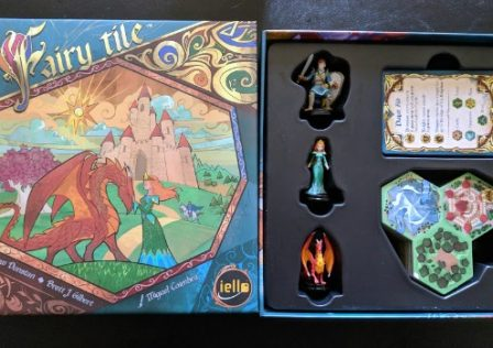 Fairy Tile family board game