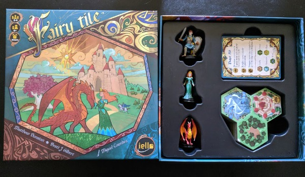 Fairy Tile game box and pieces included.
