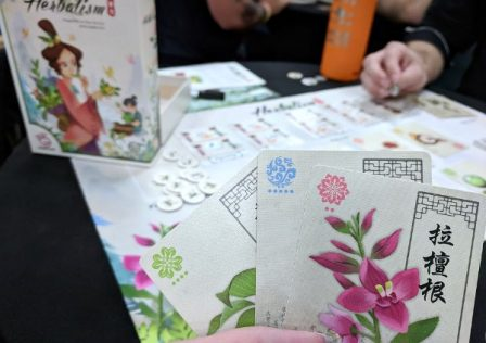 Herbalism game at Origins