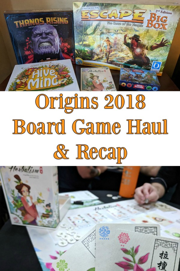 Origins Game Fair 2018 Board Game Haul and Recap - Curious about Origins Game Fair? This family talks about their first experience attending. Watch or read the recap overview and see their board game haul.