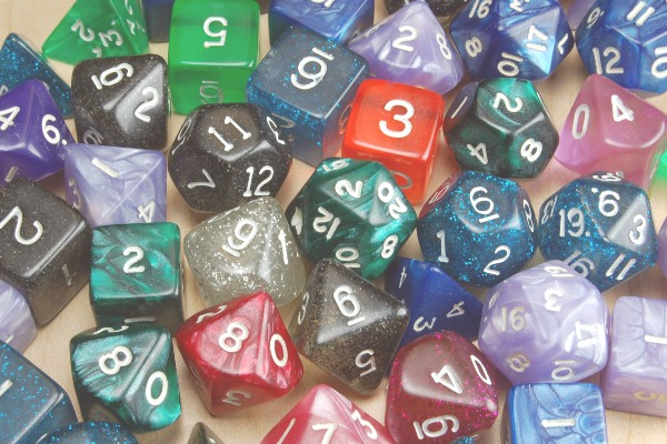 RPG dice collection-dp
