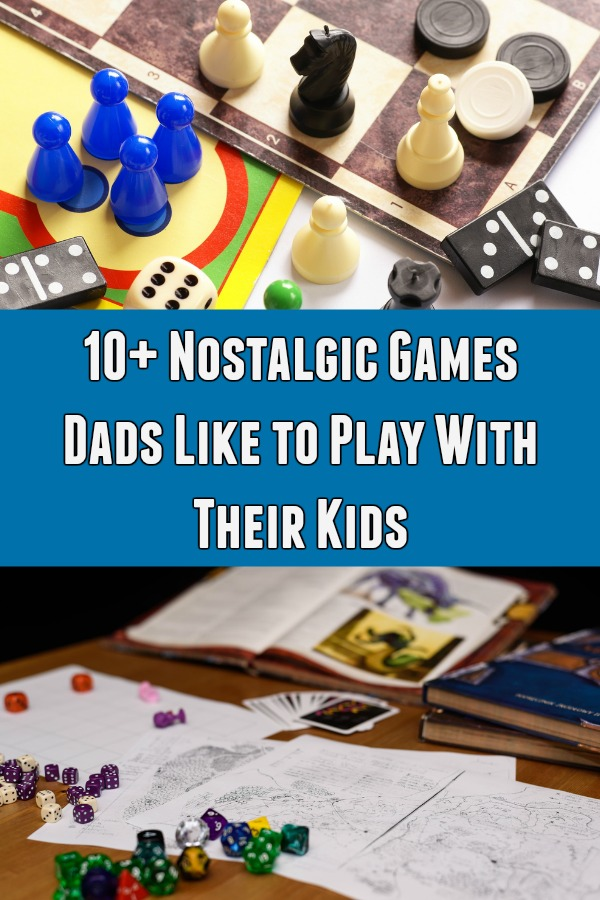 Several Dads share nostalgic board games and video games from their childhood that they enjoy playing with their own kids. Create fun family memories!