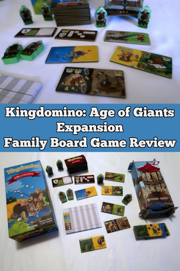 Looking for a fun, quick strategy game for family game night? Check out why this family recommends the Kingdomino Age of Giants board game expansion.