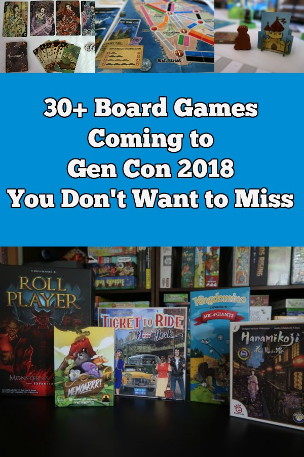 Curious about new board games being featured or released at Gen Con? Check out these family friendly picks!