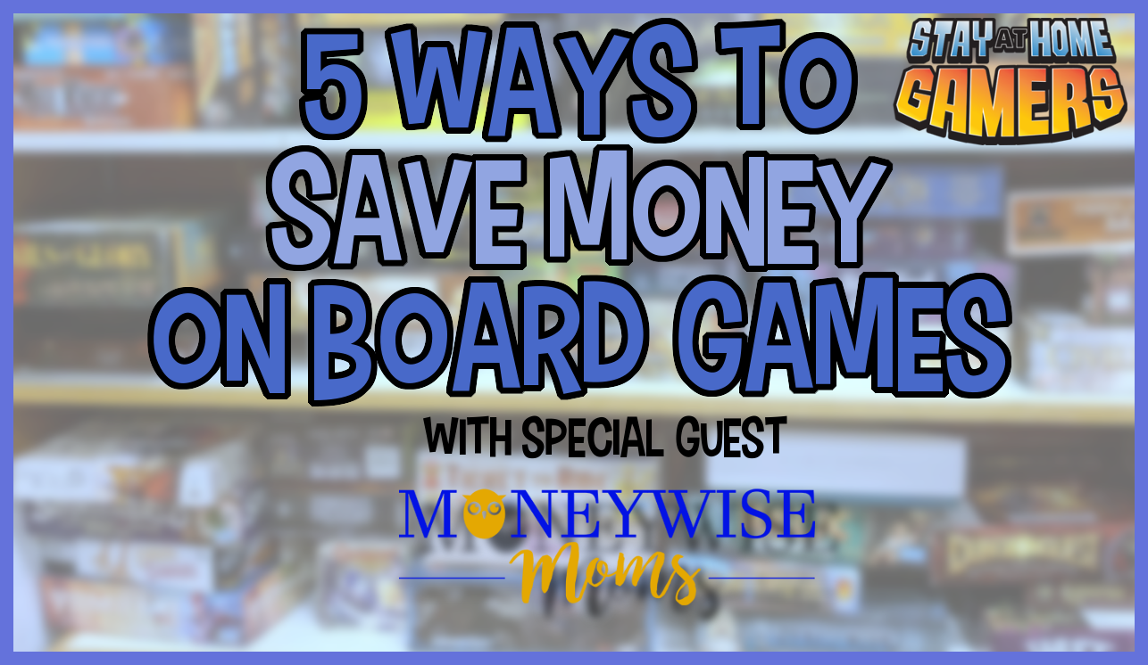 Learn several ways you can save money on board games.