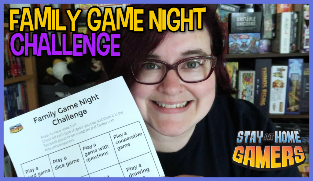 Learn about our Family Game Night Challenge