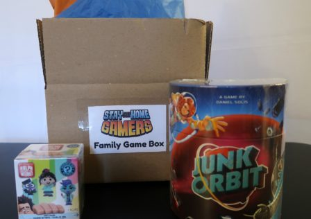 Junk Orbit Family Game box