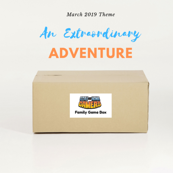 March Family Game Night Box Theme