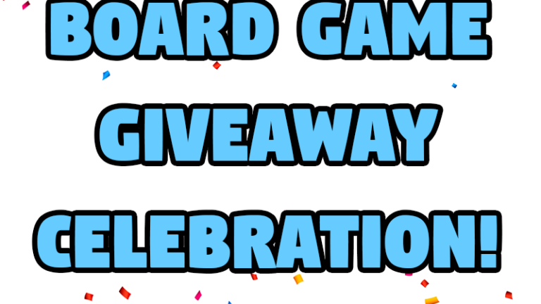 Stay-At-Home Gamers is celebrating their two year anniversary with a series of board game giveaways.
